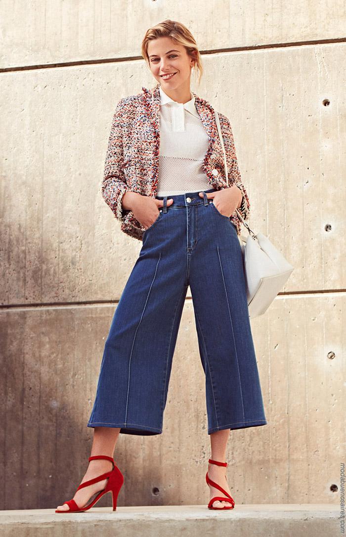 Pantalones primavera verano 2020. Moda primavera verano 2020 mujer.