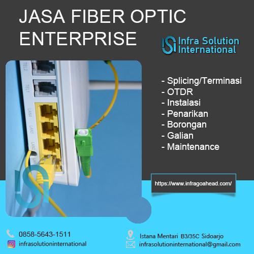 Jasa Splicing Fiber Optic Banyuwangi Enterprise