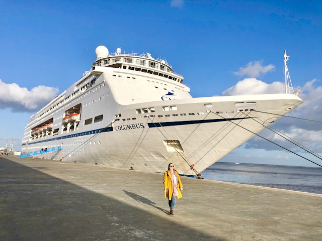 Cruise and Maritime Voyages Columbus in Lisbon, Portugal