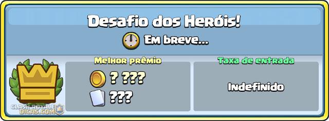 Heroes Challenge Clash Royale Leak