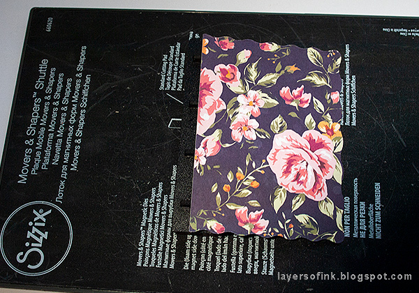 Layers of ink - Nautical Mini Album Tutorial by Anna-Karin Evaldsson with Eileen Hull Sizzix Book Binding die