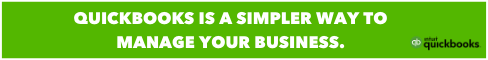 Quickbooks is a simpler way to manage your business