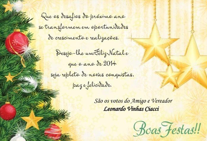 Mensagem De Natal E Ano Novo 2019
