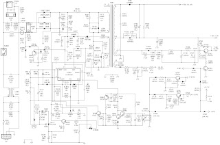 HP D2825 Acer 7254 CRT monitor circuit diagram Full