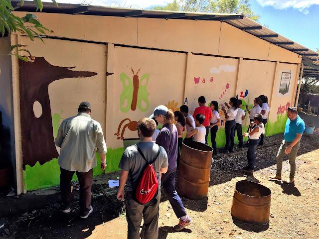 school murale costa rica ecoguardianes ade