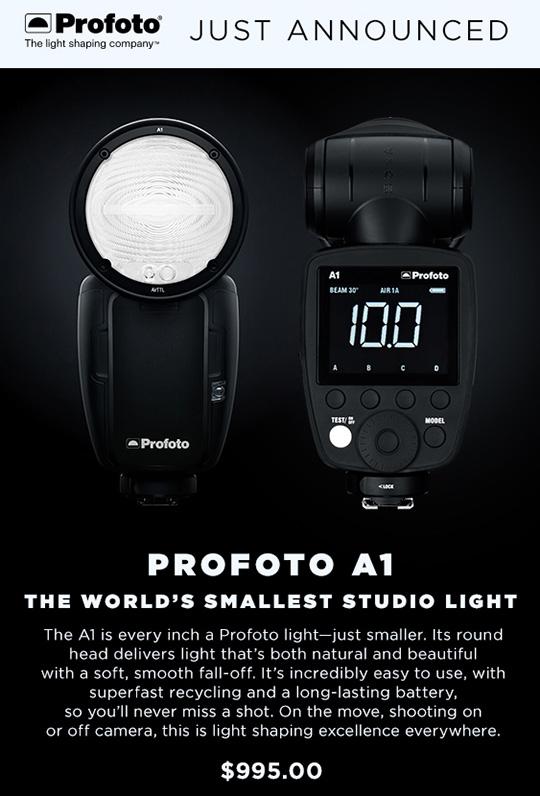 Рекламный баннер Profoto A1