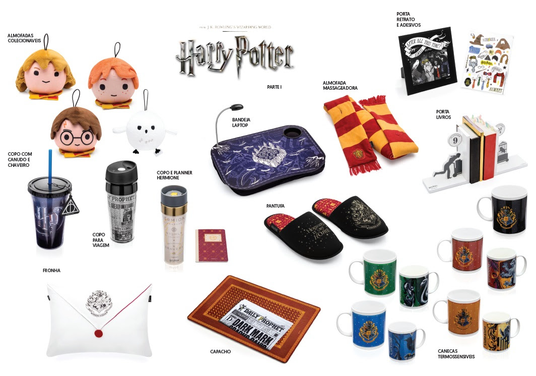 Imaginarium lança nova linha de produtos inspirados em Harry Potter