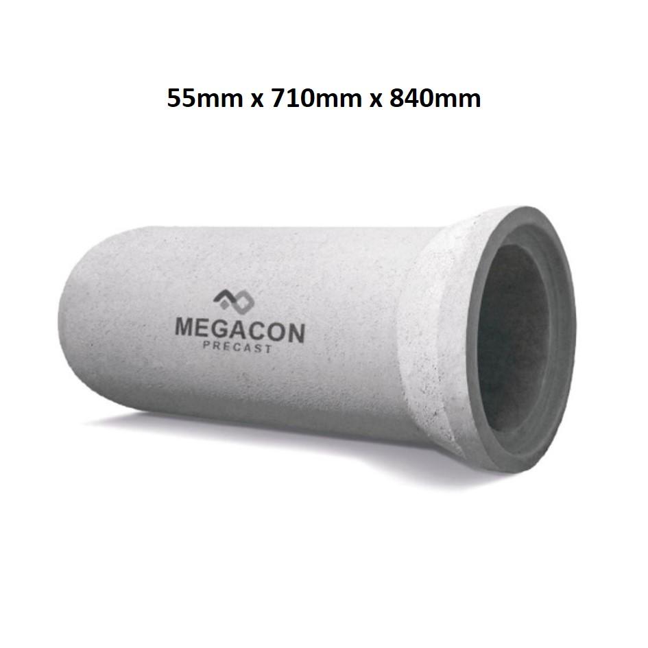 Pipa Beton Bertulang (Tipe R Kelas 1) Diameter 600 mm