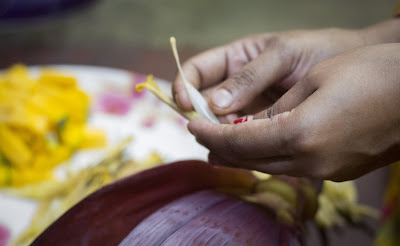 mochar ghanto (মোচার ঘন্ট )in bengali ranna ghor
