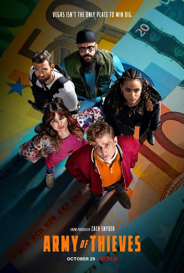 Army of Thieves (Trailer Film Netflix 2021) Armata hoților