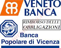 come funziona il rimborso delle obbligazioni Veneto Banca e Popolare di Vicenza
