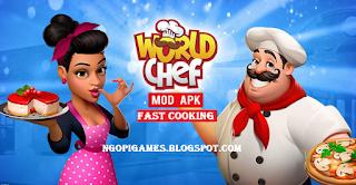 Download World Chef Mod Apk Unlimited Money