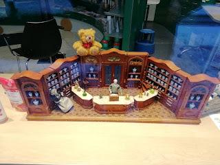Кукольный магазин с настоящей деревяной мебелью, Карлсруэ, Баден-Вюртемберг