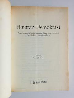 Hajatan Demokrasi