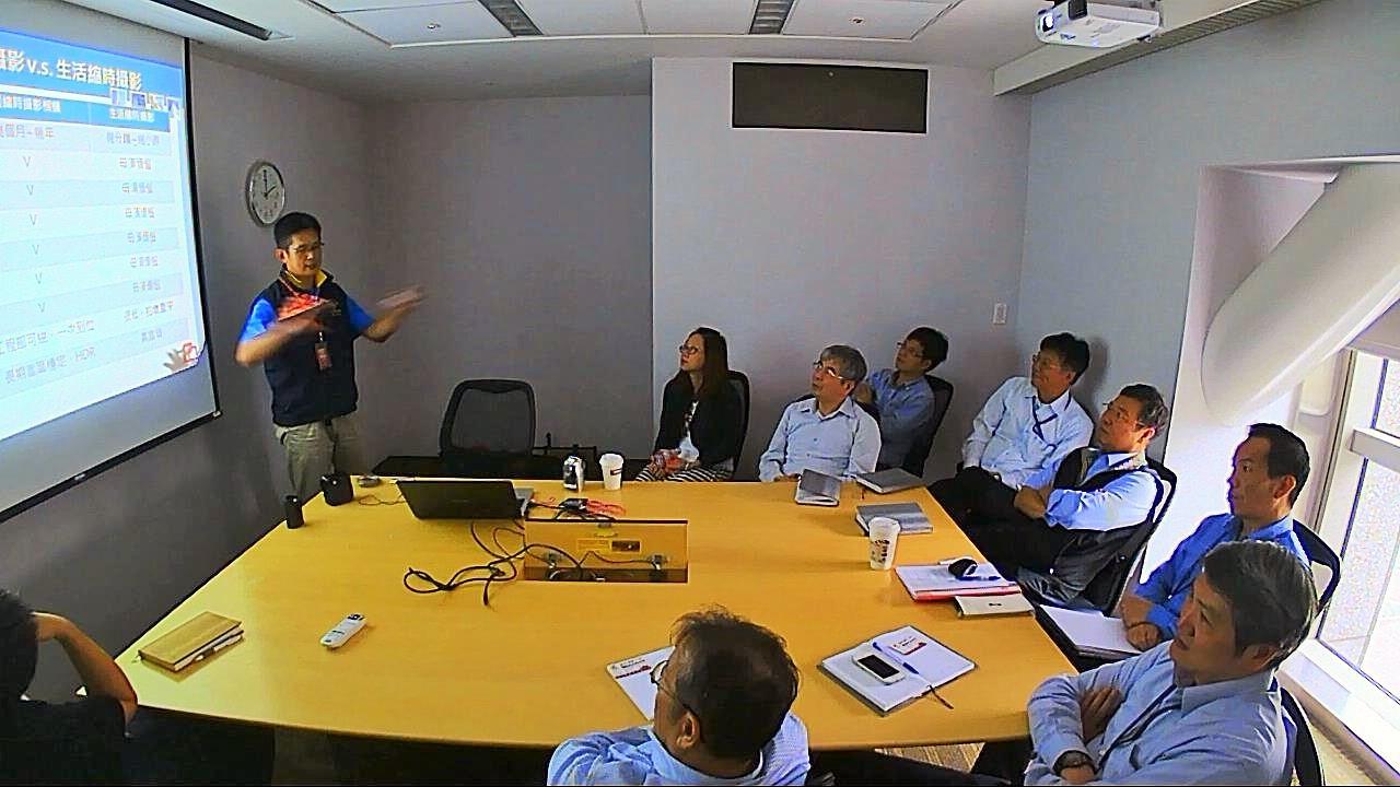 2013受邀到中鼎工程總公司簡報-導入工程縮時攝影解決方案