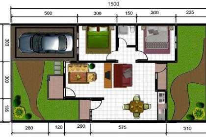 Ide Inspiratif Modern Denah Rumah Sederhana 3 Kamar Tidur