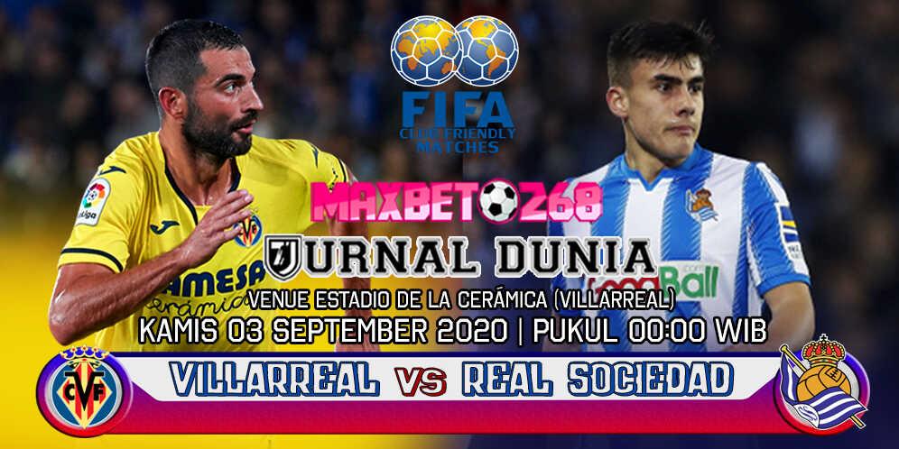 Prediksi Villarreal Vs Real Sociedad 03 September 2020 Pukul 00.00 WIB