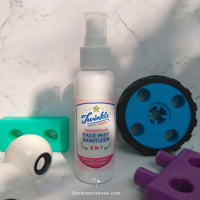 Review Twinkle 3 in 1 Face mist Sanitizer