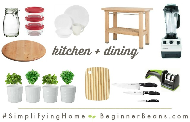 Simplifying Home: Kitchen + Dining Products