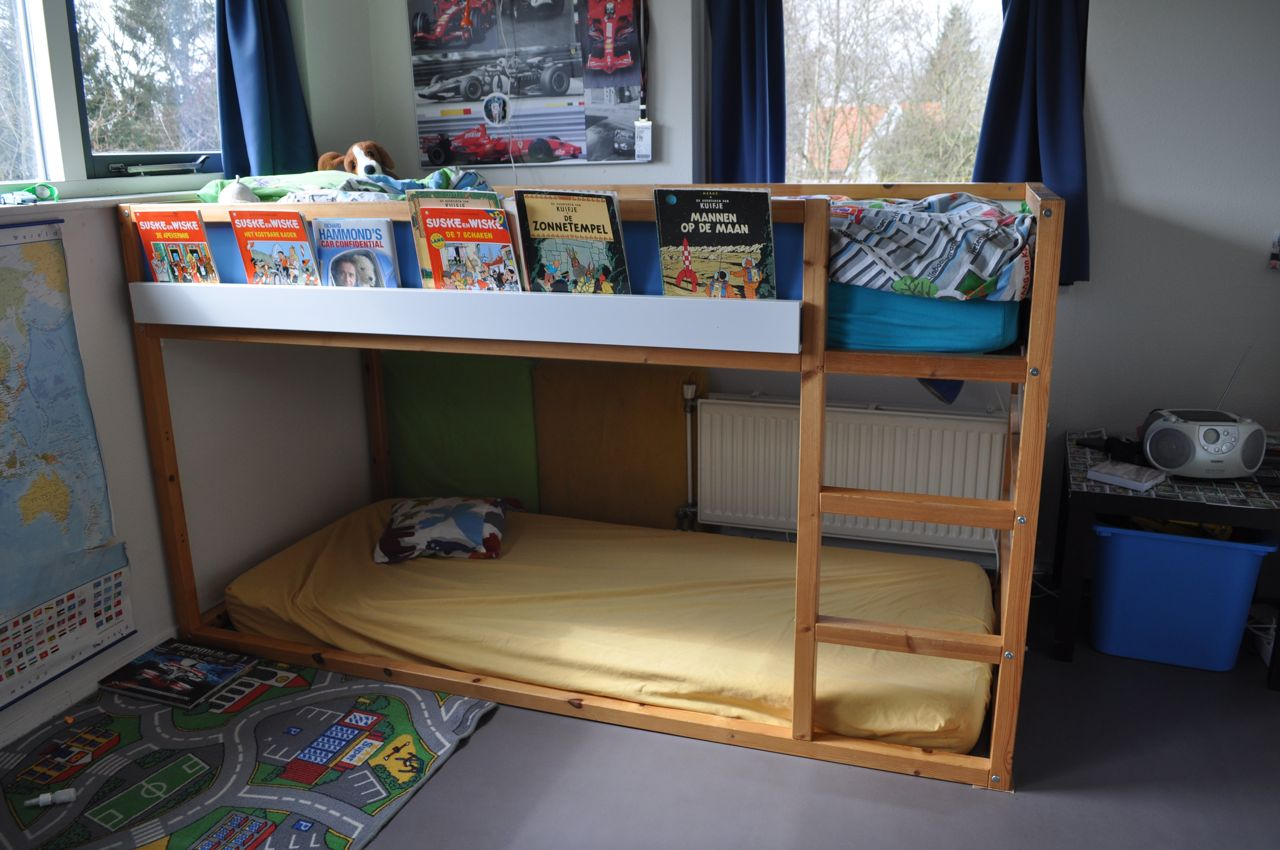 high sleeper bookshelf kura ribba ikea hackers ikea hackers. Black Bedroom Furniture Sets. Home Design Ideas