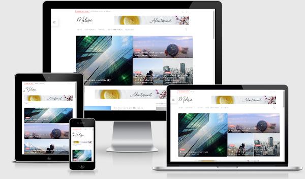 Melesa Blogger Template Premium