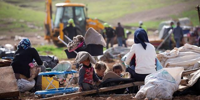 Israel Hancurkan Rumah-rumah Milik Penggembala Palestina Untuk Kelima Kalinya