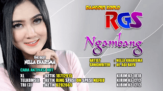 Lirik Lagu Ngambang - Nella Kharisma