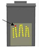 Contactos eléctricos en cartuchos de tinta HP 27.