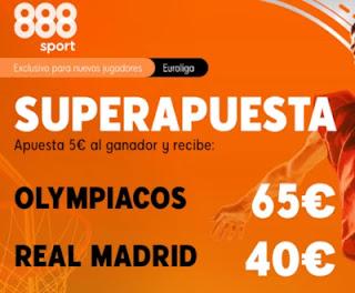 888sport superapuesta Olympiakos vs Real Madrid 18 diciembre 2020