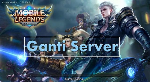 Cara Ganti Server Mobile Legends Bang Bang