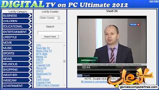 Digital TV On PC