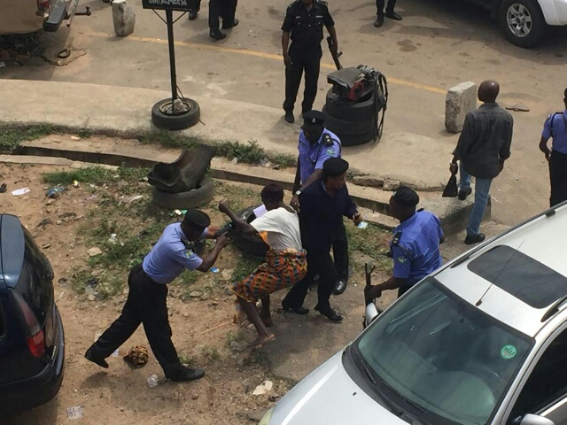Elderly Woman Brutalized By Police in Revolution Now Protest In Osun State