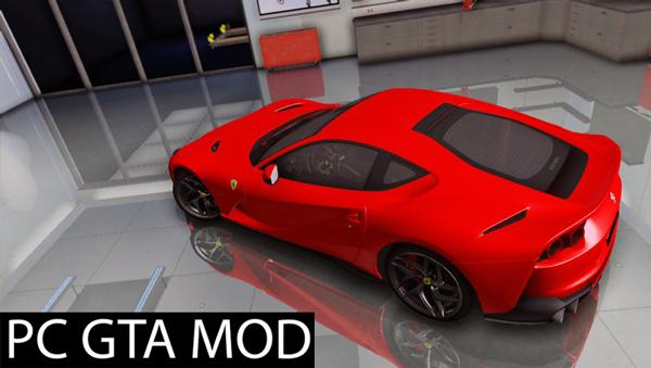 Free Download 2017 Ferrari 812 Superfast  Mod for GTA San Andreas.
