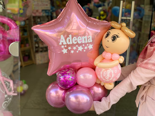 Adorable Baby Delivery by Zahraa Jawad of Forever Balloons Boutique.