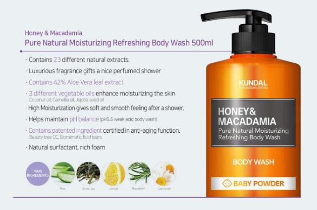 review kundal body wash sabun dengan bahan alami dari korea