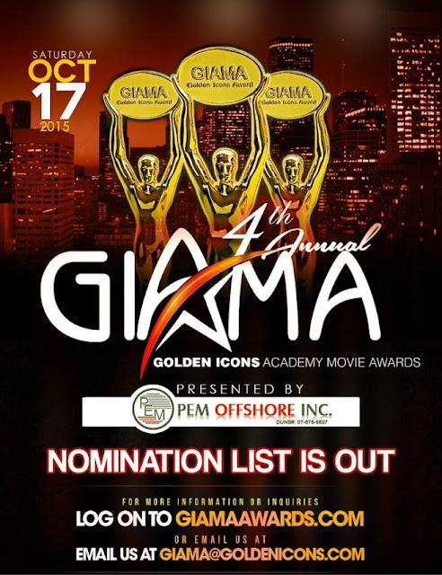 GIAMA AWARDS 2015