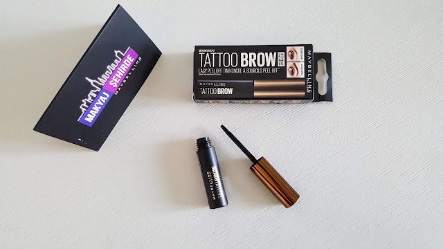 Maybelline Tattoo Brow Gel Tint Light Brown | Maybelline Soyulabilir Kaş Dövmesi