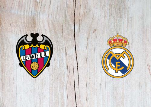 Levante vs Real Madrid -Highlights 22 February 2020