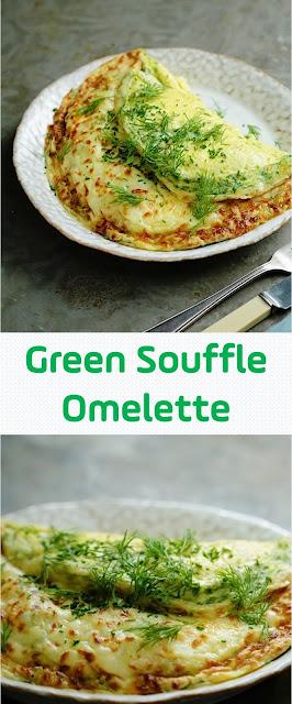 Green Souffle Omelette