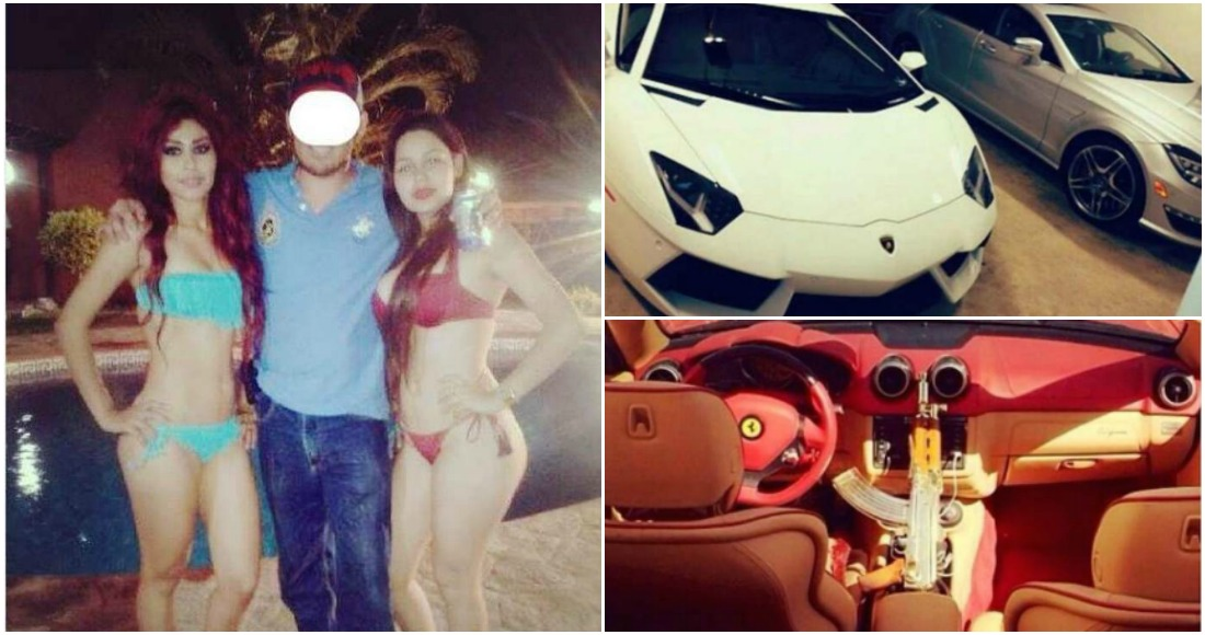 """Carros, armas, dinero, mujeres nadie festeja como Iván Archivaldo Guzmán, el hijo de """"El Chapo""""."""