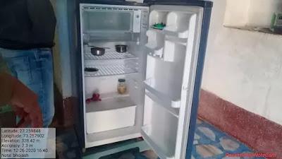 फ्रिज में रखा हिरण का छ किलो मांस बरामद