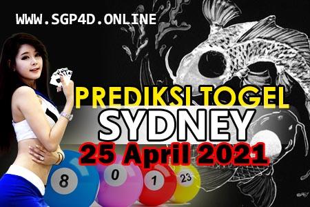 Prediksi Togel Sydney 25 April 2021
