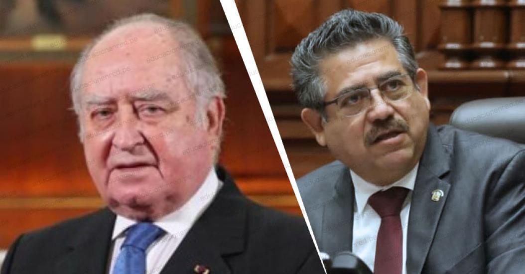 Organismos de derechos humanos denuncian a Manuel Merino y Flores-Aráoz