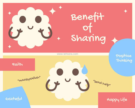benefit of sharing