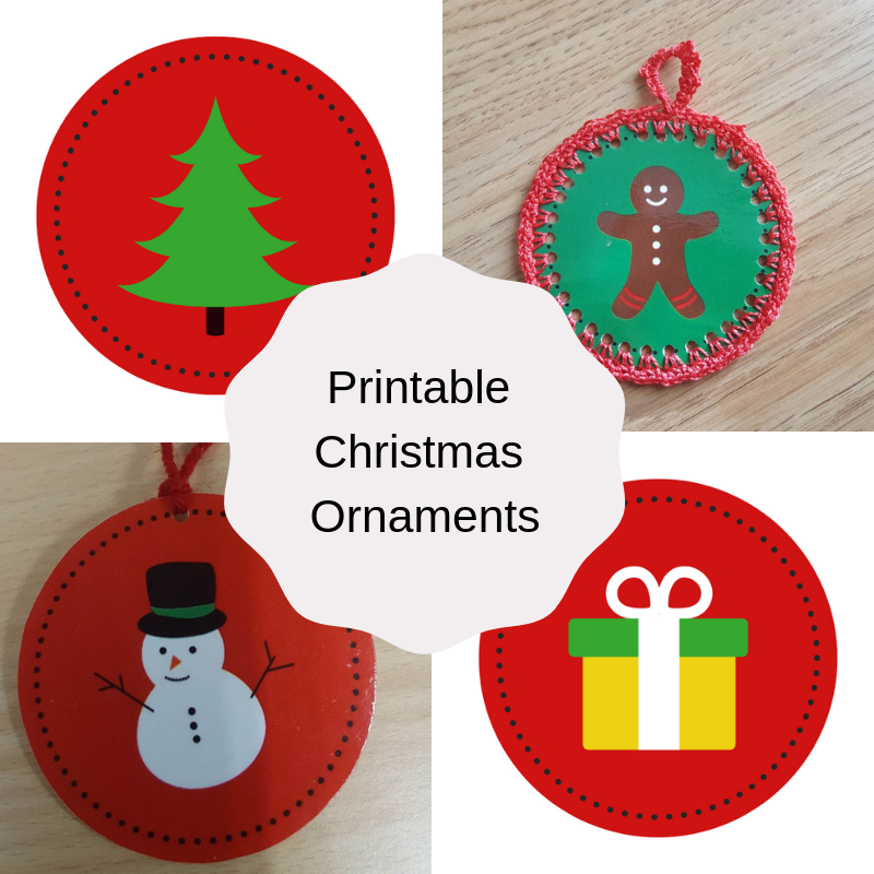 Printable Christmas Ornaments.Printable Christmas Ornaments Keeping It Real