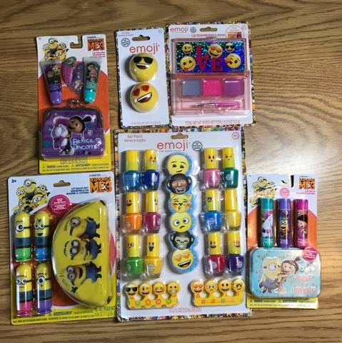Townley Girl Cosmetics Giveaway (2) winners of Despicable Me