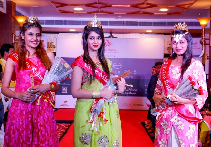 Elite Miss Rajasthan 2015