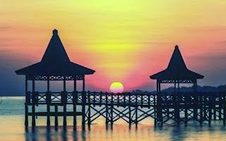 sunrise di pantai bentar