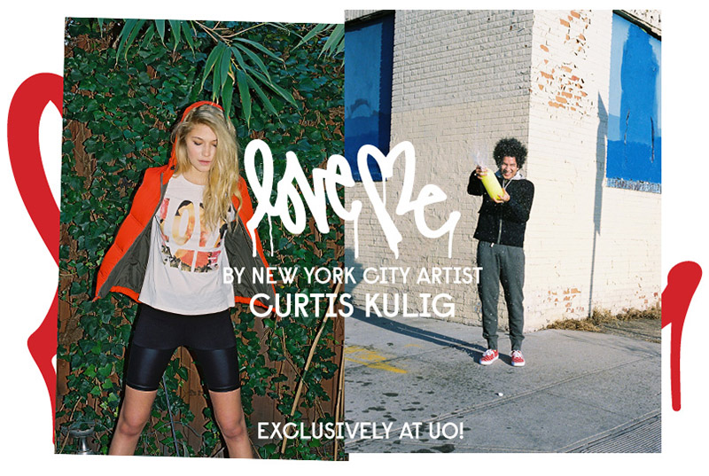 Urban Outfitters and Curtis Kulig