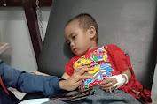 Generasi Kopi Tayan Hilir Mengadakan Kegiatan Donasi Peduli Vitolo, Anak Korban Tabrak Lari